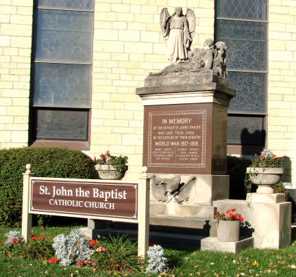 St. John Soldiers' Memorial in Joliet, Illinois